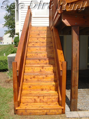Cedar deck sealed with Super Cedar - Click me!