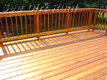 cedar deck washing