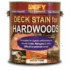 Defy Hardwood Deck Stain