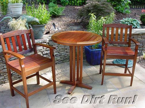 Teak Furniture Washing Sanding Sealing Low Pressure Cleaning Md Va