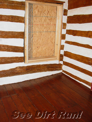 Log home interior stain sealer finish restoration md va wv How to stain log cabin
