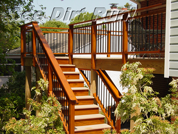how to clean composite deck atex