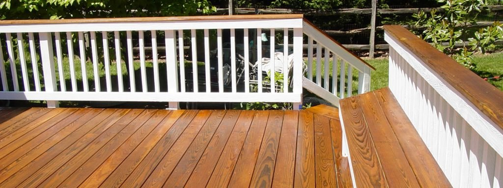 two tone deck staining sealing deck maintenance md va outdoor furniture stain