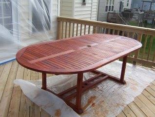 Diy Maintenance Cleaning Your Teak Wood Patio Furniture Garden