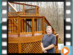 Testimonial - Ipe and Cedar Deck VA