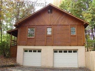 Log Home Sealed Natural & Satin