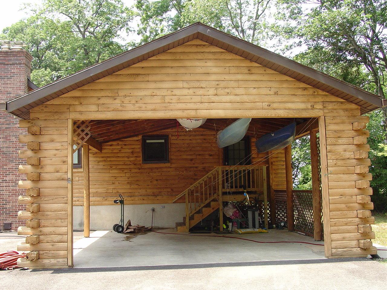 Log Home Restoration & Maintenance EXTERIOR