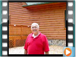 Testimonial - Log Home Restoration and Maintenance WV with Hazelnut