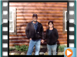 Testimonial - Log Home Restoration Frederick MD