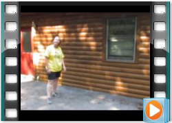 Testimonial Log Home Maintenance Dark Honey