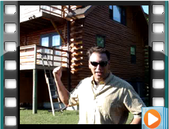Testimonial log home maintenance