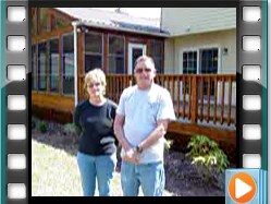 Testimonial - Wash and seal porch and deck