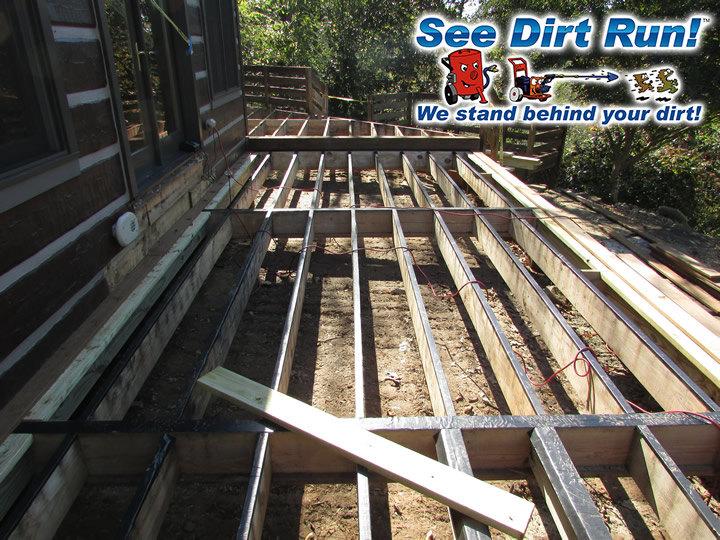 Ipe Hardwood Amp Pt Pine Lumber Deck Building See Dirt Run