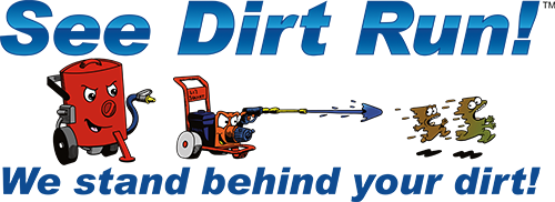 See Dirt Run Logo